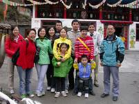 2007年10月1日 九寨沟、黄龙旅游